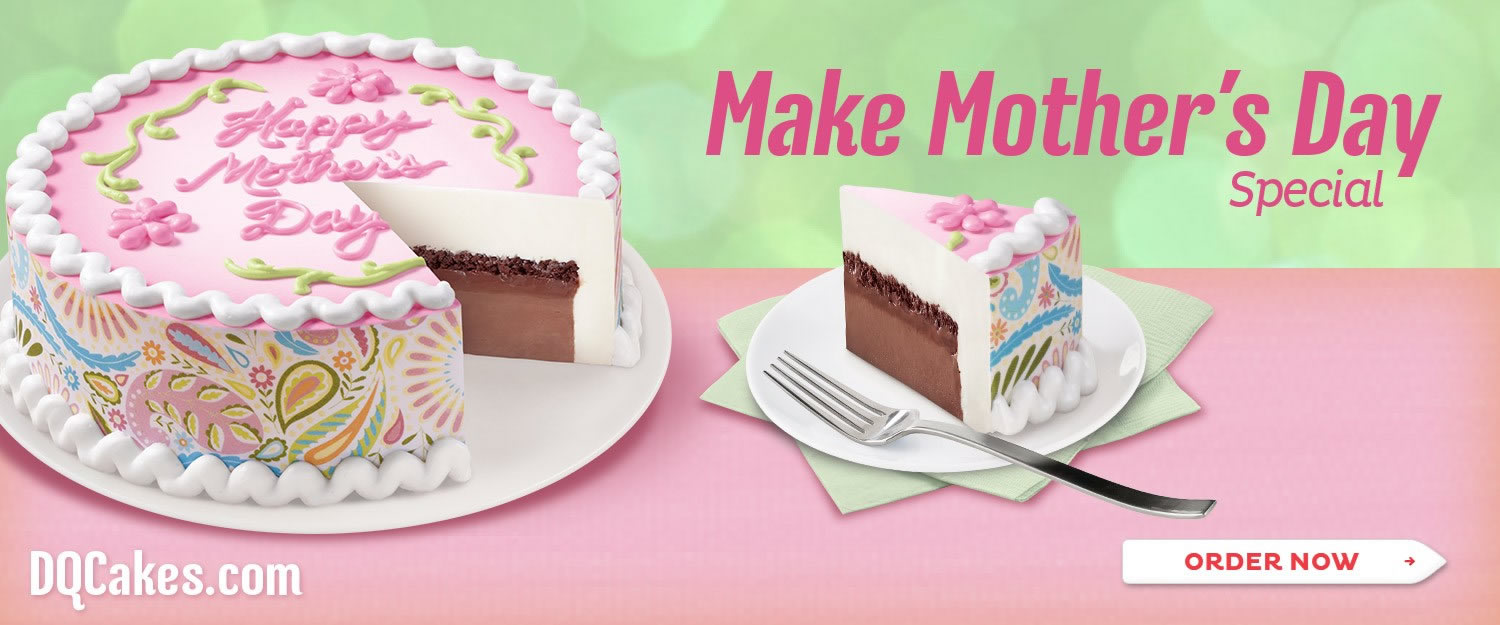 Dairy Queen Mother's Day Cake