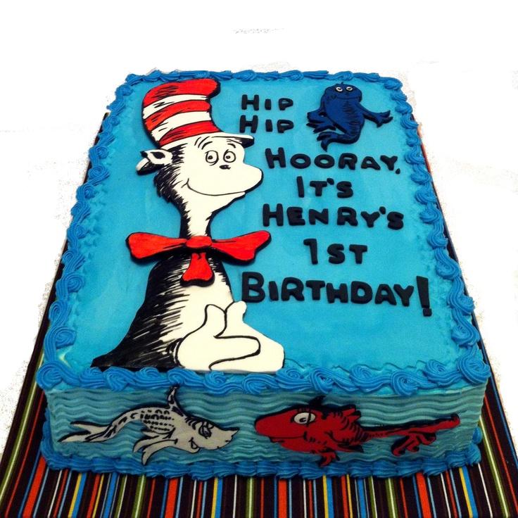 9 Dr Seuss Sheet Cakes Photo Dr Seuss Birthday Sheet Cakes Dr