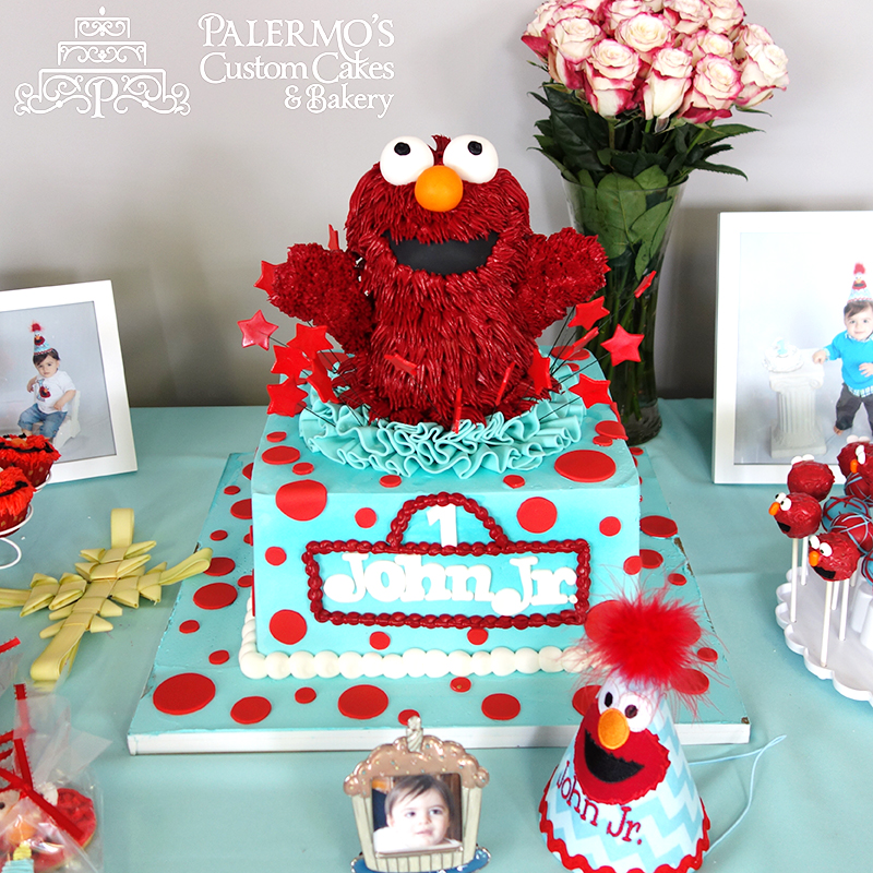 10 Custom Birthday Cakes Shoprite Photo Elmo 1st Birthday Cake