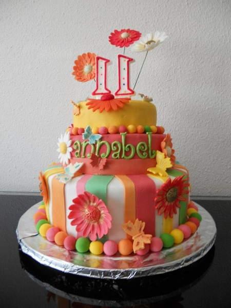 Girls 11th Birthday Cake Ideas