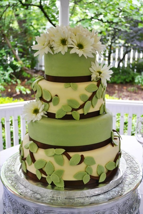 10 Green Brown Wedding Cupcakes Photo - Green and Brown Wedding ...