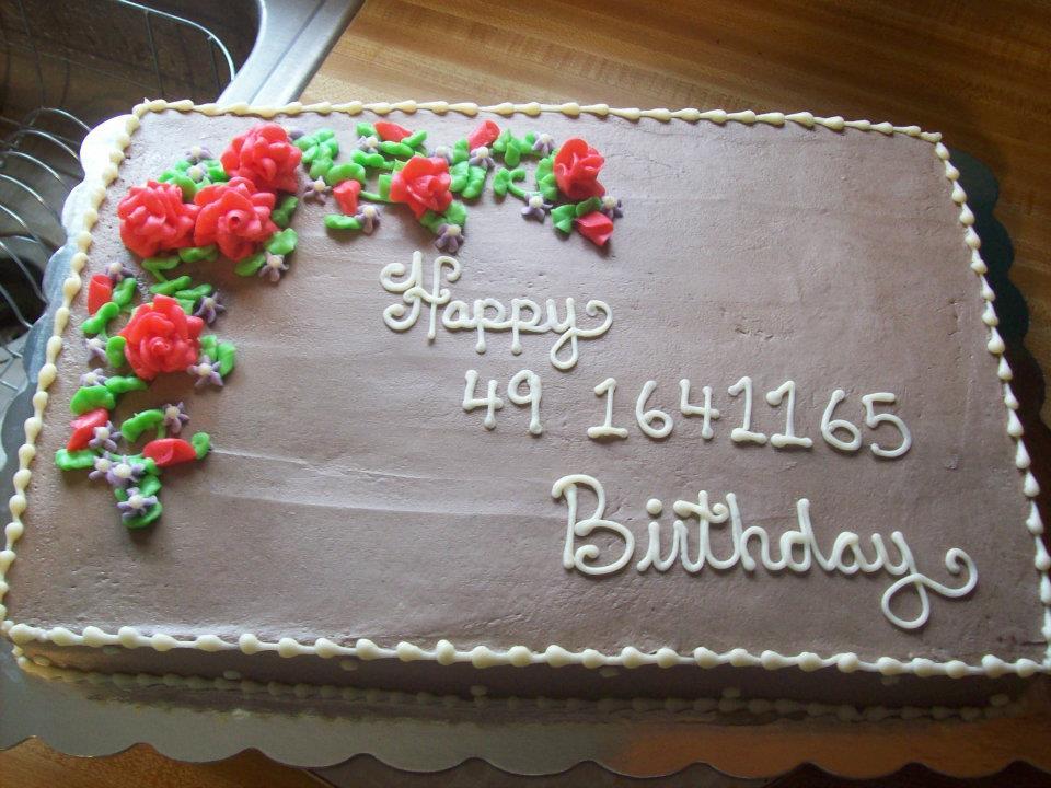 5 Ralphs Bakery Cakes Sheet Cakes Photo Happy Birthday Full Sheet