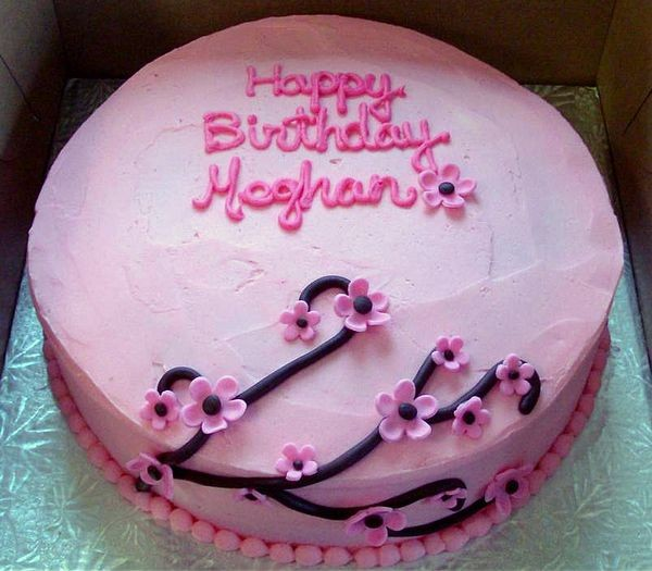 11 Cakes For Happy Birthday Meghan Photo Happy Birthday Megan Cake