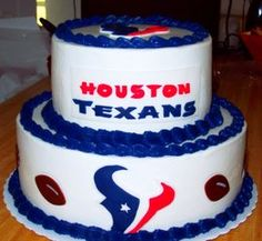 Cool 11 Houston Texans Birthday Cakes Cupcakes Photo Houston Texans Personalised Birthday Cards Paralily Jamesorg