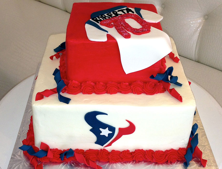 Houston Texans Football Cake