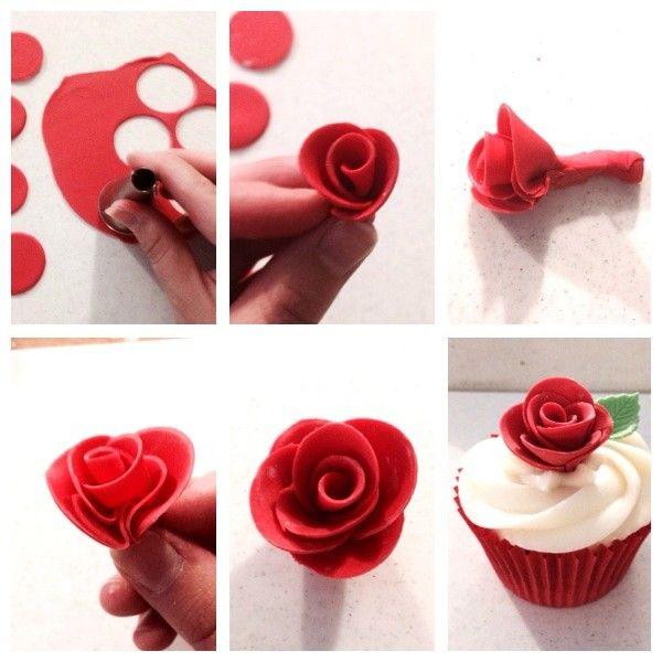 7 Easy Fun Fondant Cupcakes Photo How To Make A Cake With Fondant