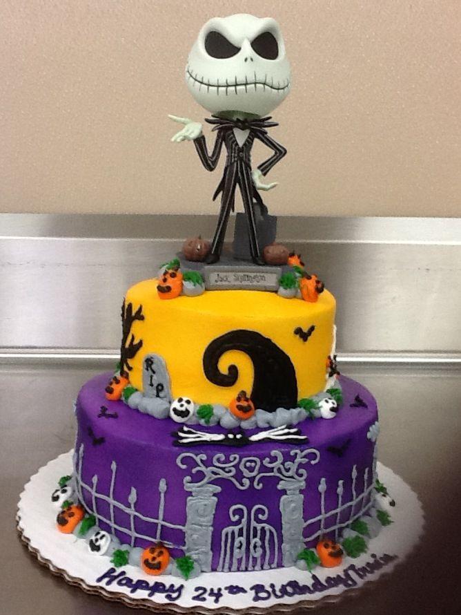 11 Jack Skellington Birthday Cakes Lakeland Fl Photo Jack