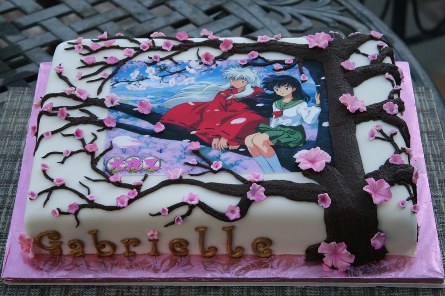 10 Japan Anime Cakes Photo Anime Birthday Cake Anime Birthday