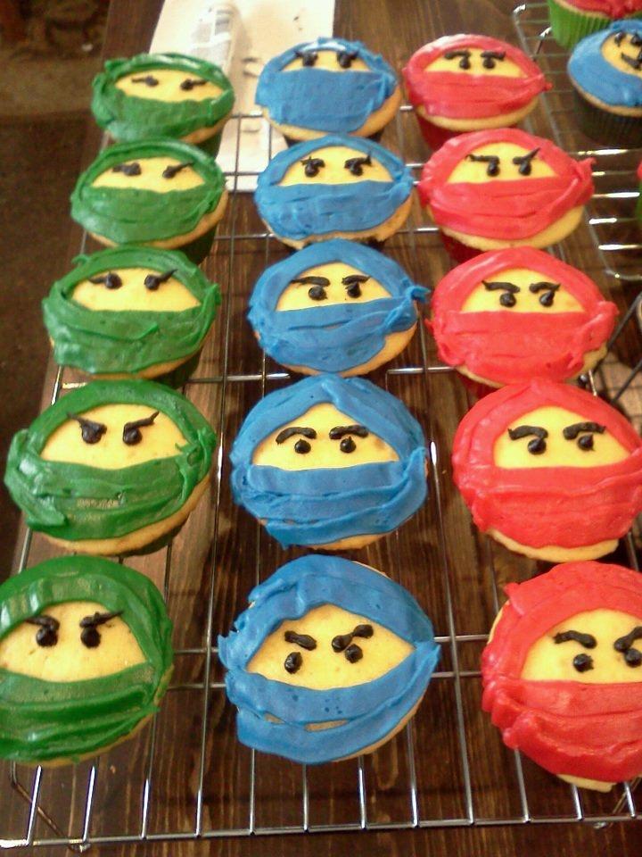 Lego Ninjago Cupcakes Cakey Goodness Food in 2019