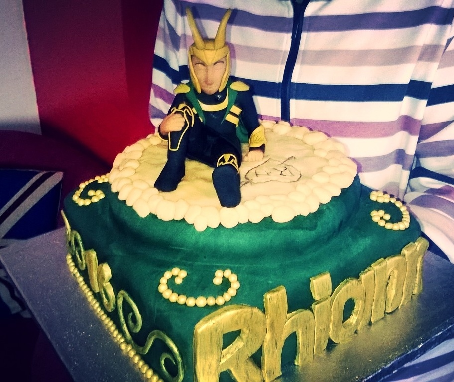 11 Loki Themed Cakes Photo Loki Birthday Cake Loki Birthday Cake