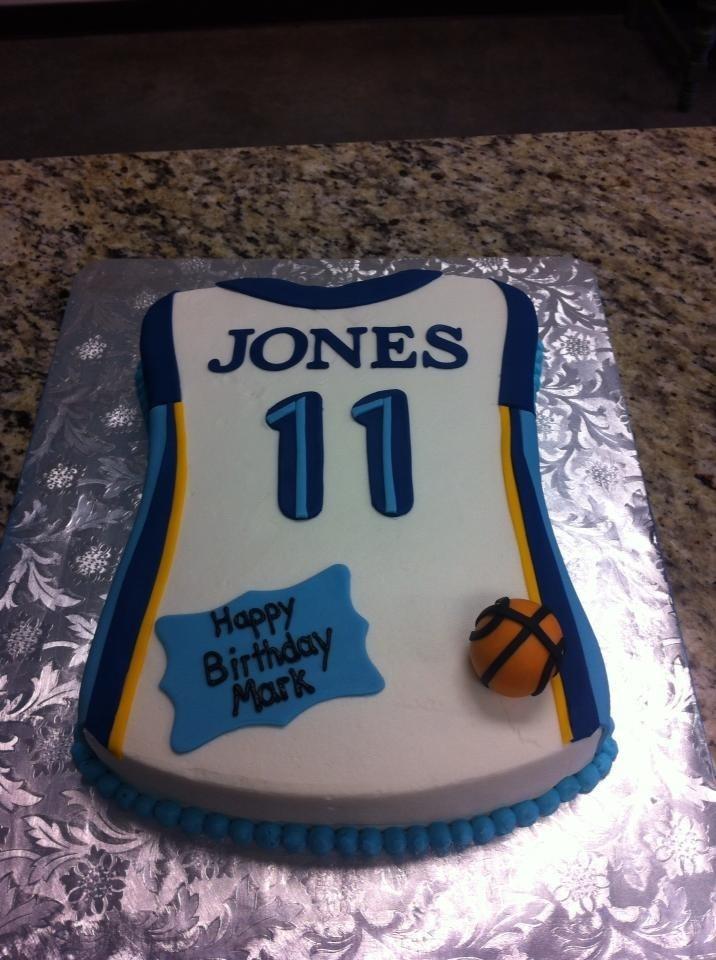 Memphis Grizzlies Birthday Cake