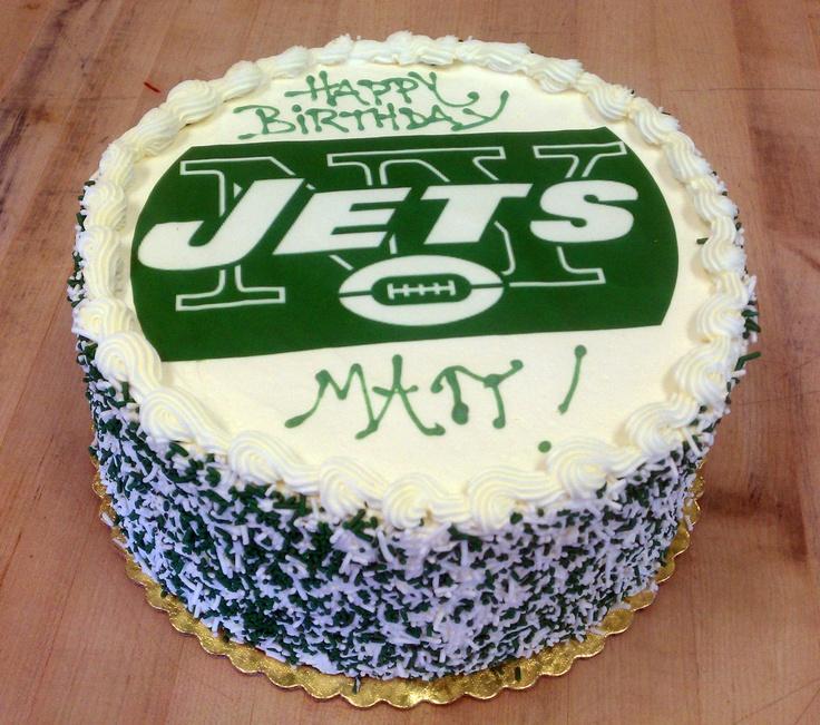 12 Ny Jets Birthday Cupcakes Photo Ny Jets Football Cake Ny Jets