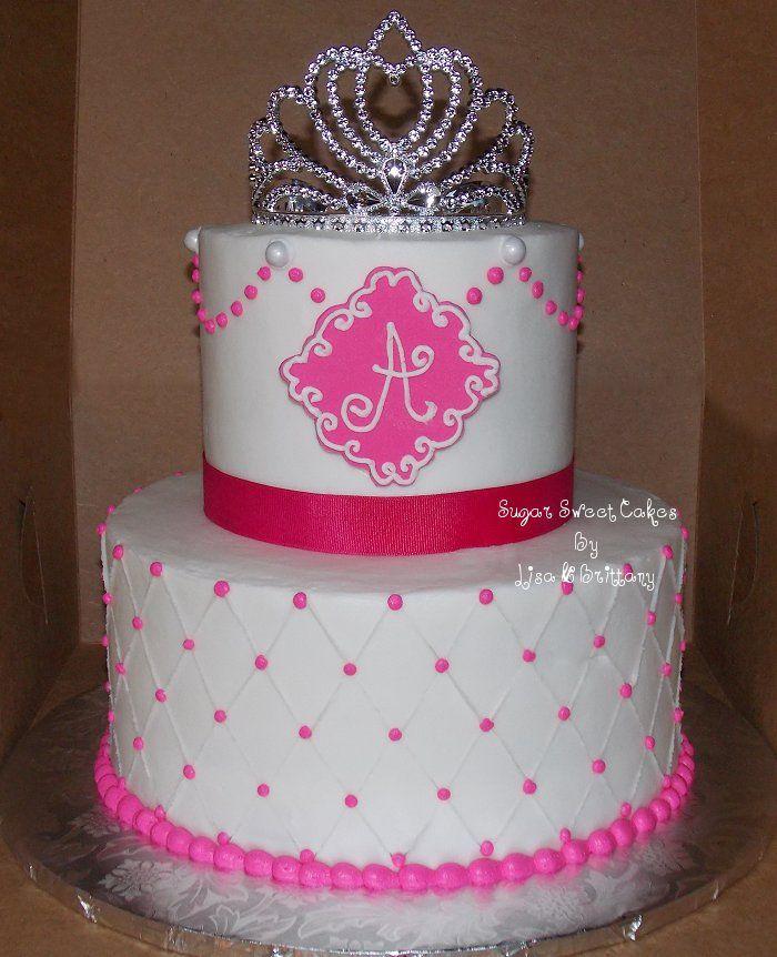 Princess Birthday Cake Buttercream