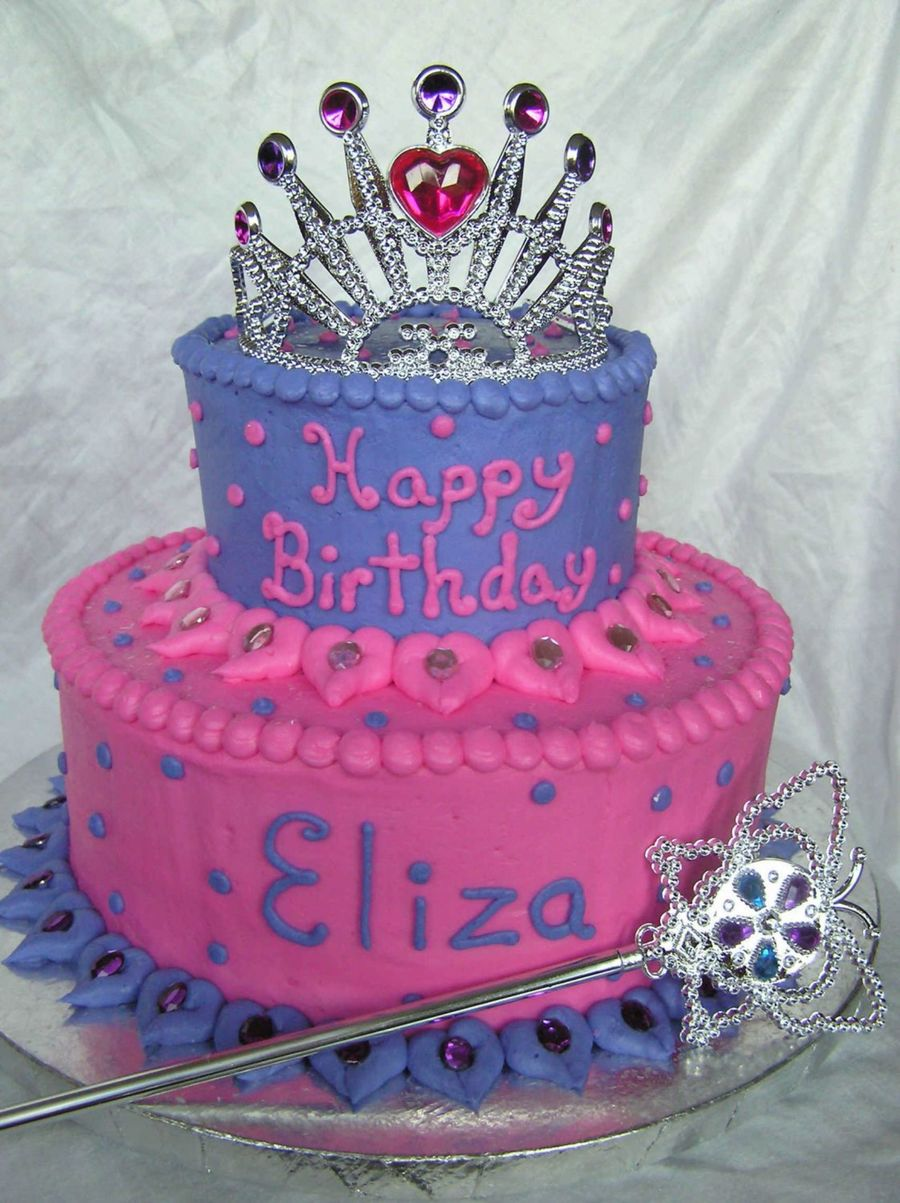 Princess Birthday Cakes At Walmart