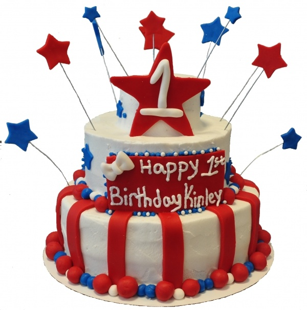 Brilliant 8 Cartoon Birthday Cakes Pictures Red White And Blue Photo Red Funny Birthday Cards Online Alyptdamsfinfo