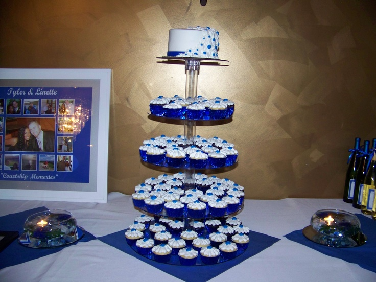 11 Horizon Blue Wedding Cakes Photo Horizon Blue Wedding Cake
