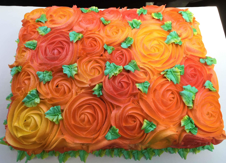 Fall Sheet Cake Decorating Ideas Thanksgiving Cake Decorating Ideas