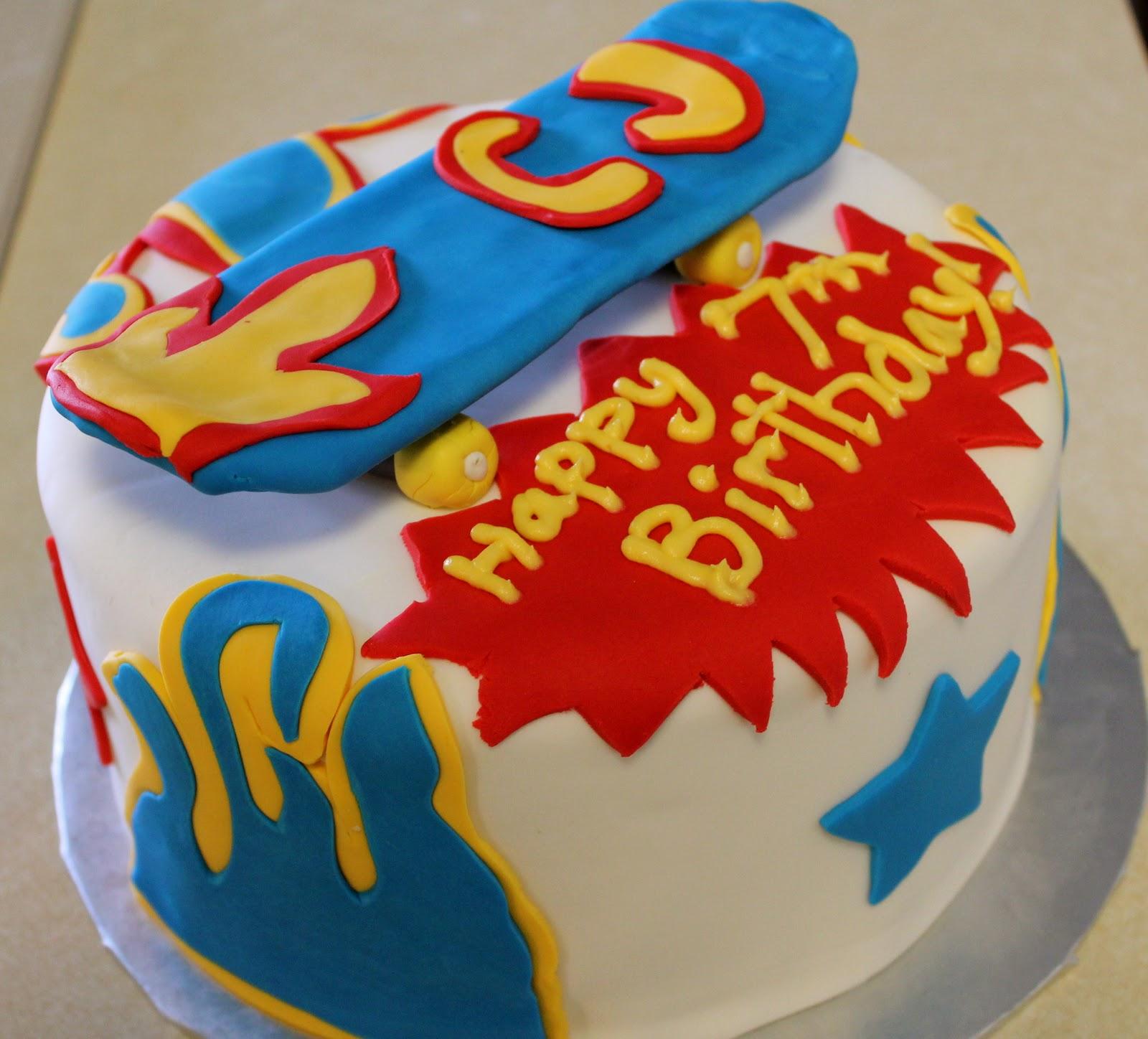 Astonishing 12 Unique Skateboard Birthday Cakes Photo Skateboard Cake Funny Birthday Cards Online Bapapcheapnameinfo