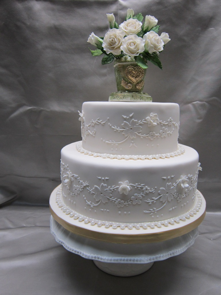 12 Small Two Tier Cakes Photo - Small 2 Tier Wedding Cakes, 2 Tier ...
