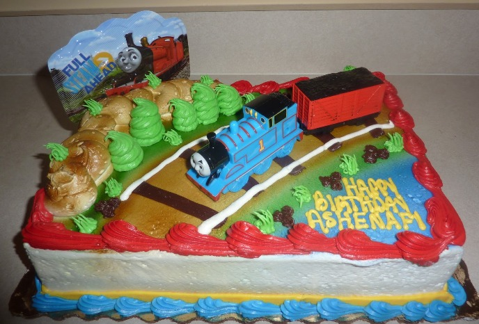 Thomas The Train Birthday Cakes Publix