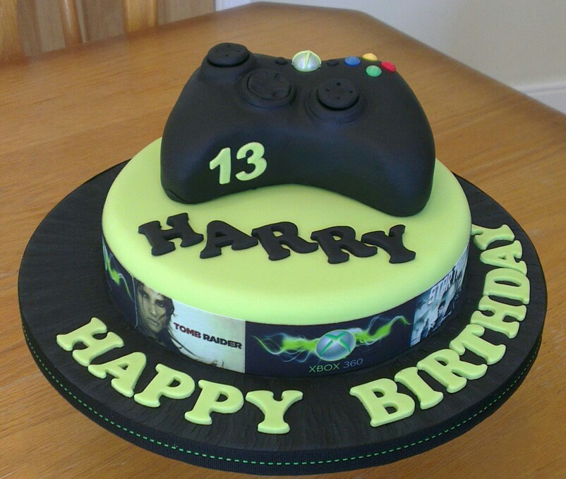 Xbox Birthday Cake Ideas