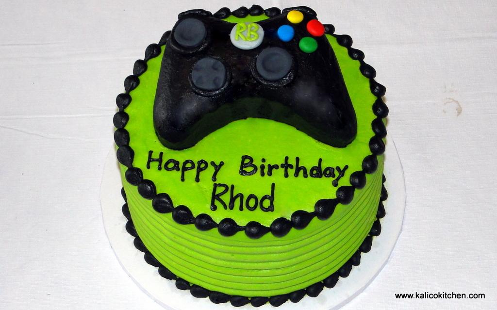 11 Xbox Cakes For Boys Photo Xbox Controller Birthday Cake Xbox