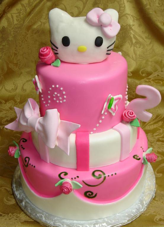 10 2nd Year Girl Birthday Cakes Photo Girl 2nd Birthday Cake