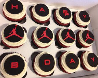 7 Air Jordan Cupcakes Photo Jordan Shoes Cupcakes Michael Jordan