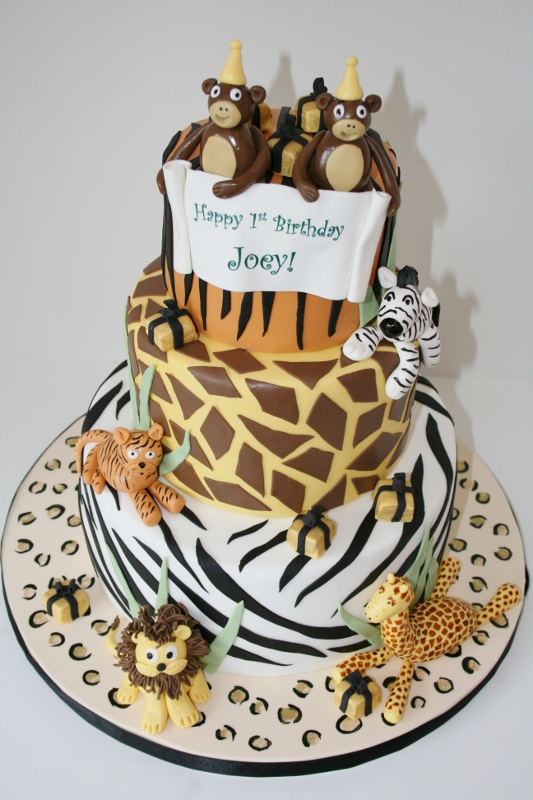 10 Animal Print Birthday Cakes Photo Leopard Print Birthday Cake
