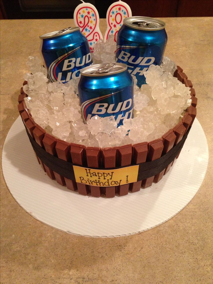 How To Make A Beer Can Shaped Birthday Cake Cake Recipe