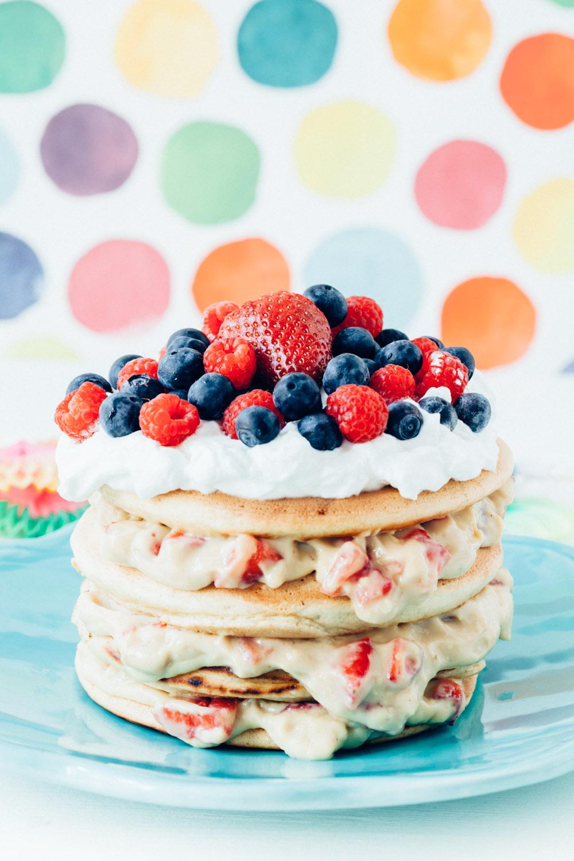 9 Birthday Cake Pancakes Photo