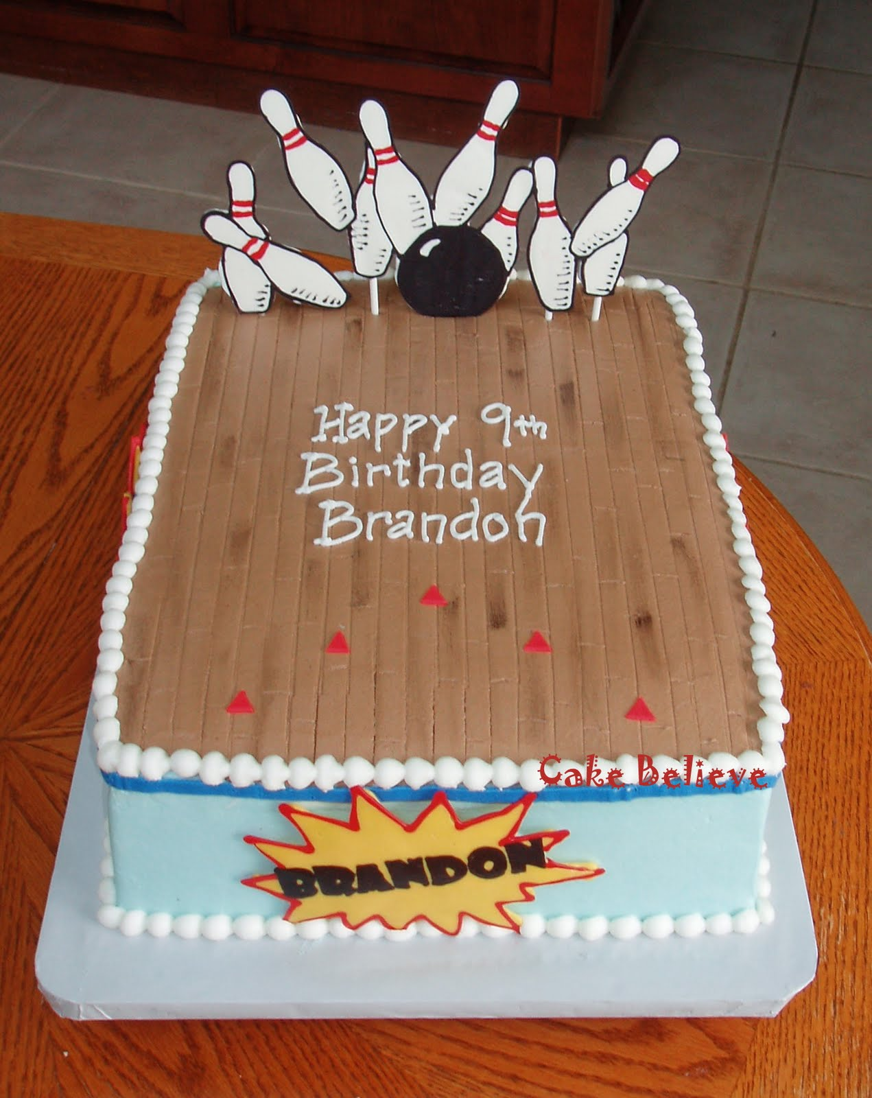 13 Mean Bowling Cakes For Party Photo Girls Bowling Party Cake