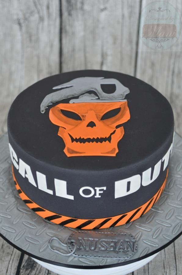 7 Cal Of Duty Cakes Photo Call Of Duty Black Ops Birthday Cake