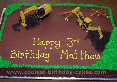 11 Construction Sheet Cakes Photo Construction Birthday Cake Idea