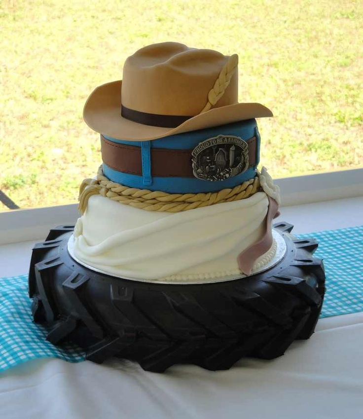 11 Country Themed Cakes Photo - Country Themed Wedding Cake Toppers ...