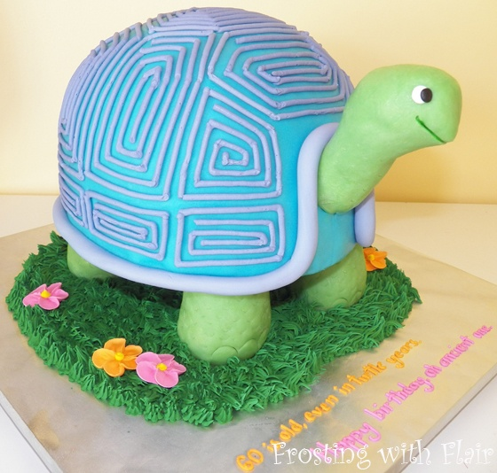 10 Cute Turtle Cakes Photo Turtle Birthday Cake Cute Sea Turtle