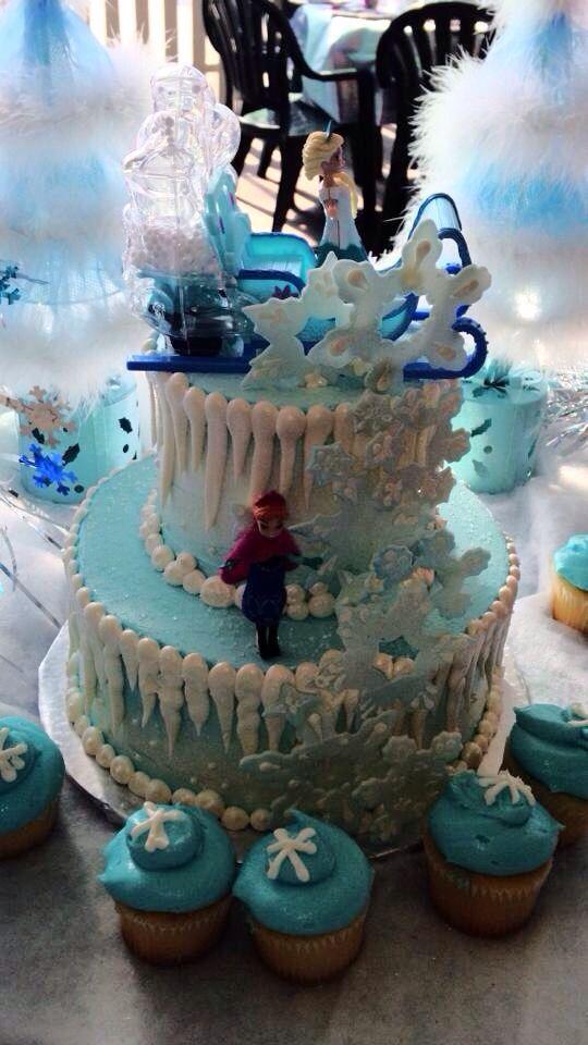 13 Disney Frozen Theme Cakes Photo Disney Frozen Birthday Cakes