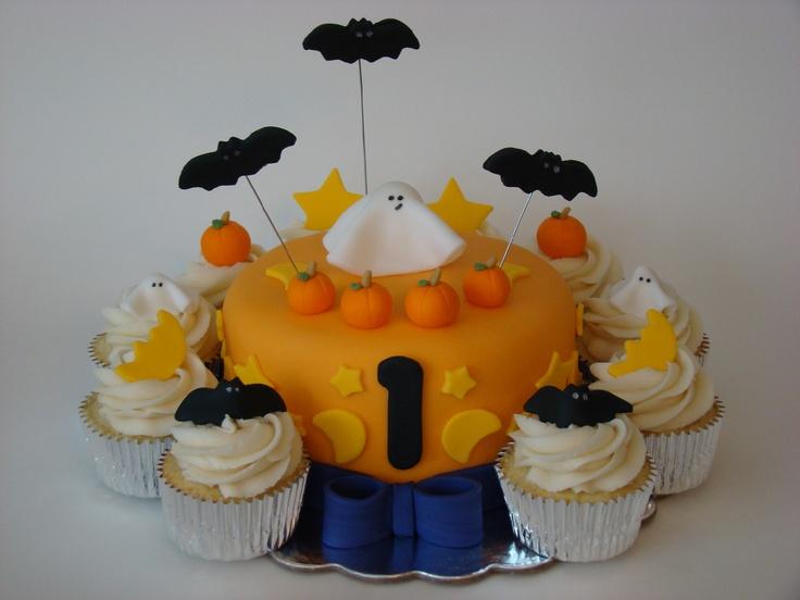13 Halloween First Birthday Cakes Photo Halloween 1st Birthday