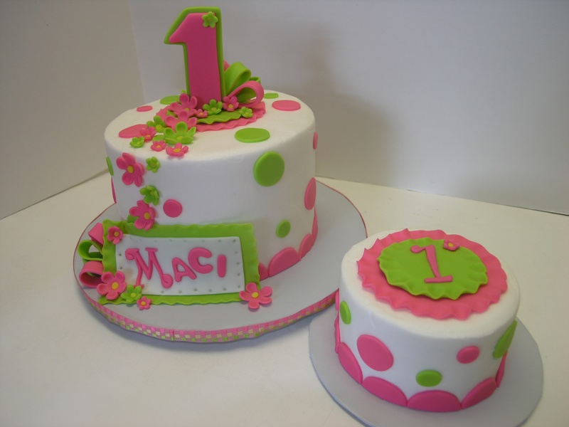 12 Pics Of Hot Pink And Lime Green Cakes Photo Lime Green And Pink