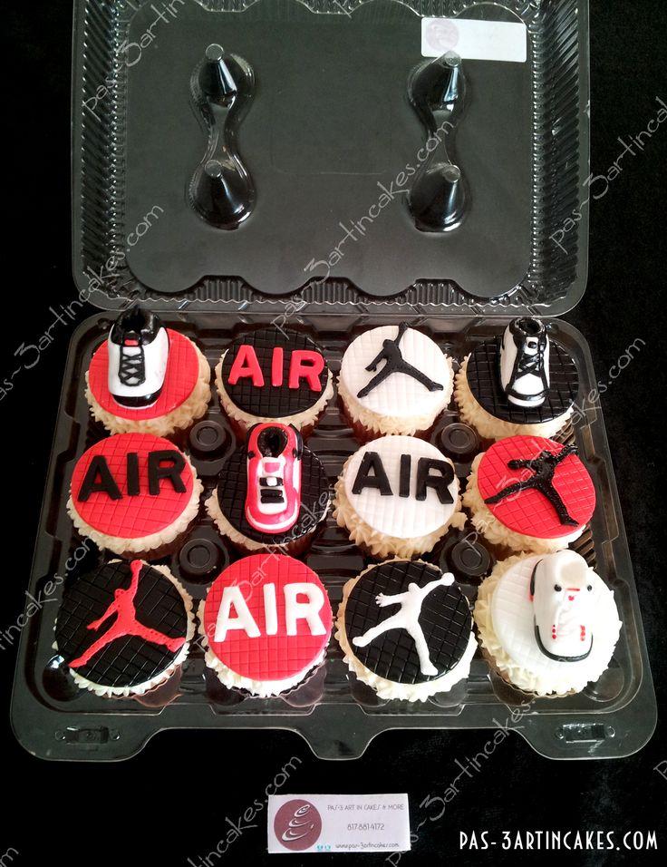 Jordan Shoes Cupcakes