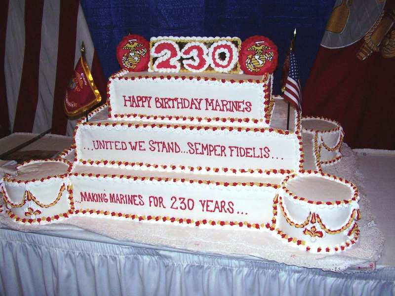 Sensational 12 Marine Corps Ball Cakes Photo Marine Corps Cake Ideas Marine Funny Birthday Cards Online Elaedamsfinfo