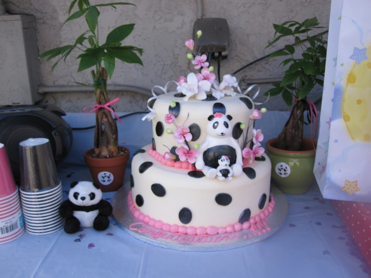 13 Baby Panda Bears Themed Cakes Photo Panda Bear Baby Shower