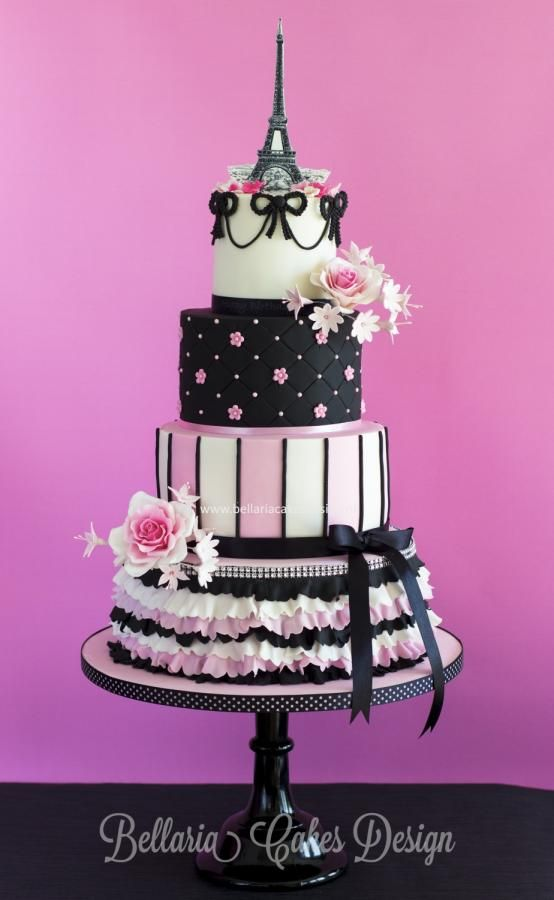 Amazing 11 Paris Themed Cake Birthday Cakes Photo Paris Themed Birthday Funny Birthday Cards Online Alyptdamsfinfo