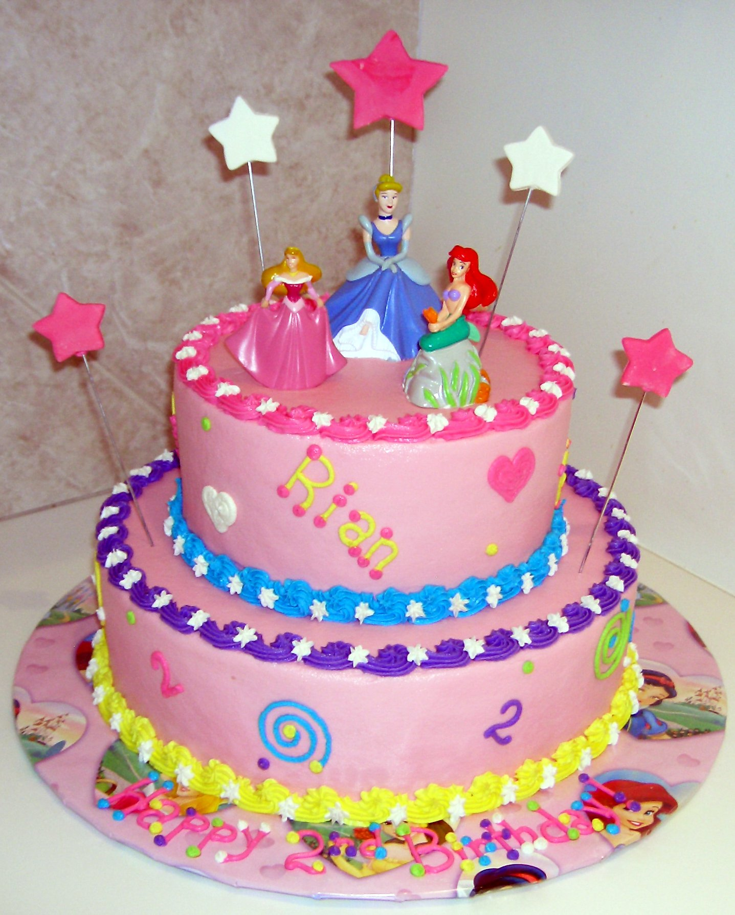 13 Disney Princess Themed Birthday Cakes Photo