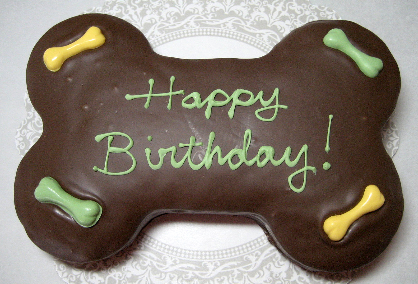 Puppy Happy Birthday Cake