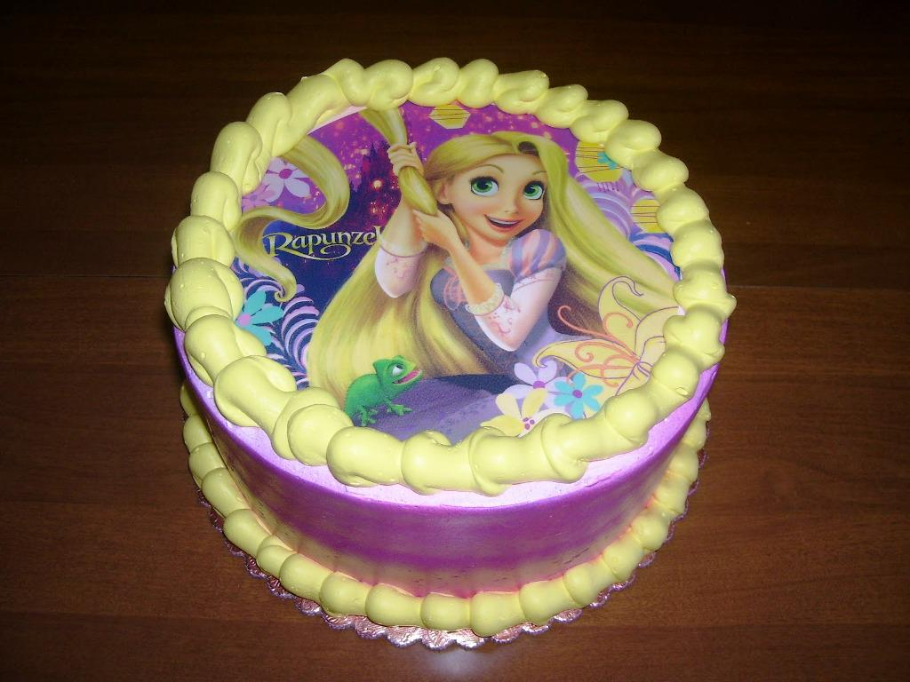 12 ShopRite Bakery Birthday Cakes Rapunzel Photo Rapunzel Birthday