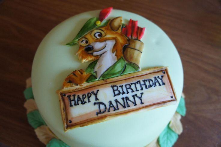 10 Robin Hood Disney Birthday Cakes Photo Robin Hood Cake Robin