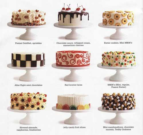 10 Easy Cakes Decorating Baking Photo Easy Cake Decorating Idea