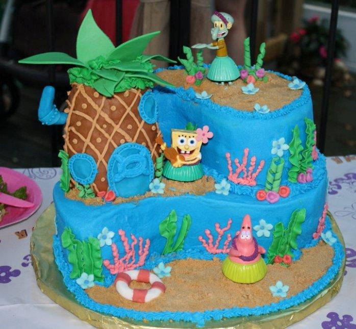 9 Spongebob Birthday Cakes From Kroger Photo Rh