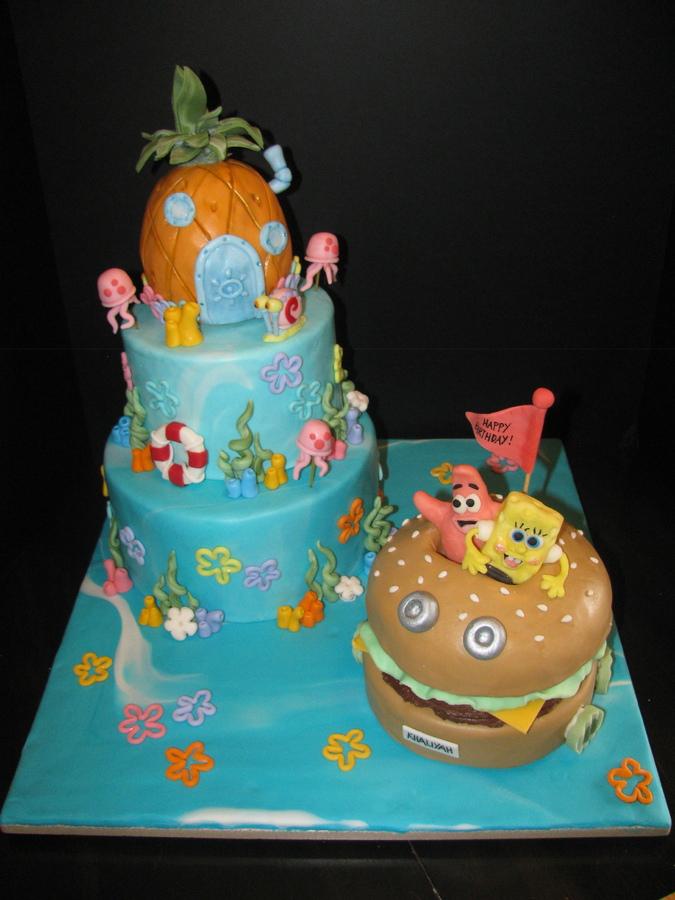 Phenomenal 9 Spongebob Birthday Cakes From Kroger Photo Kroger Birthday Funny Birthday Cards Online Drosicarndamsfinfo